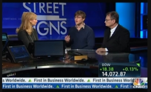 CNBC interview